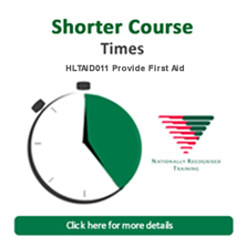 first aid shorter courses